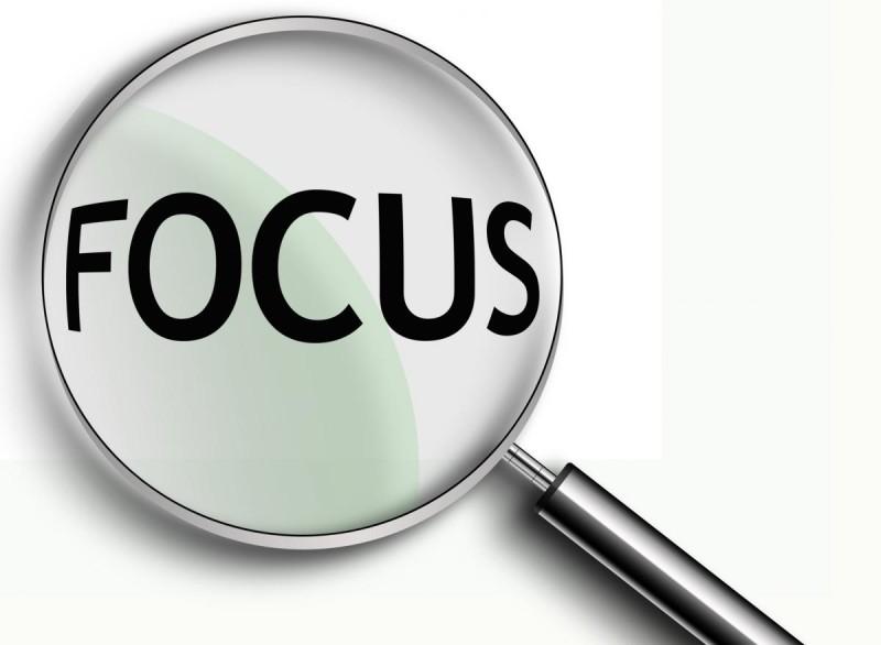 Fokus dalam belajar menulis