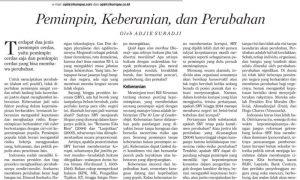 Contoh Artikel Koran Academic Indonesia
