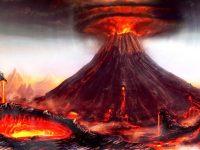 Letusan Gunung Tambora Ilustrasi