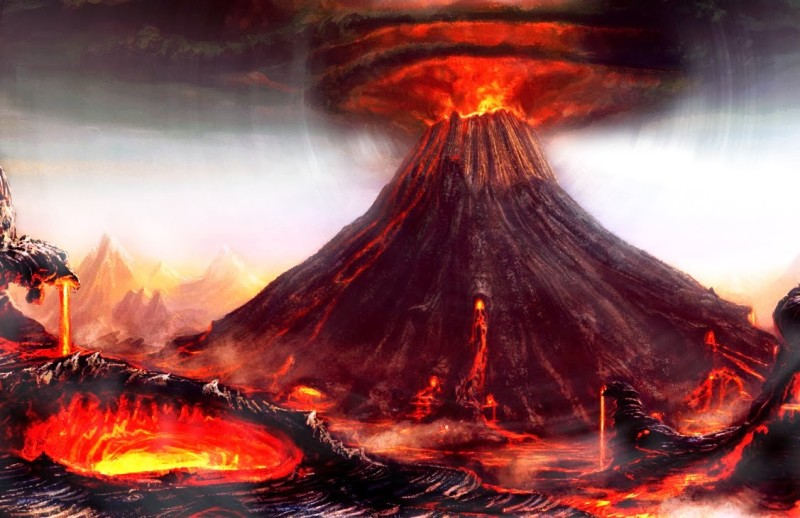 kliping bencana alam Letusan Gunung Tambora