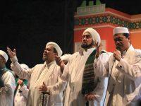 Foto Habib Syech dan Habib Riziq