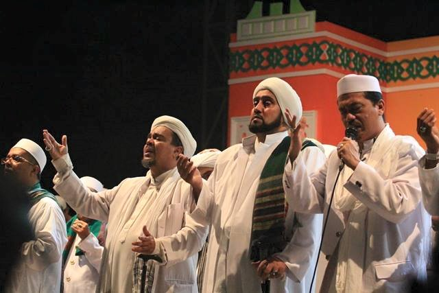 Foto Habib Syech dan Syech Muhammad Al Kabani