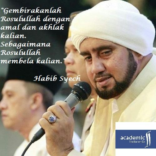 Kata-kata Habib Syech dalam Pertunjukan