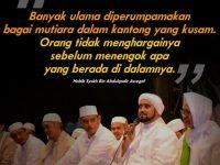 kata-kata mutiara habib syech bin Abdul
