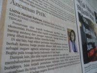 menulis di koran dapat menaikkan IPK