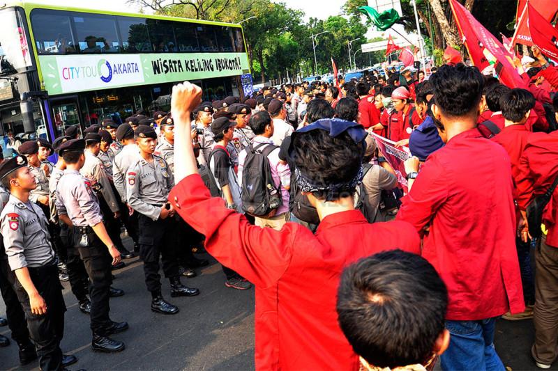 Aksi Ikatan Mahasiswa Muhammadiyah