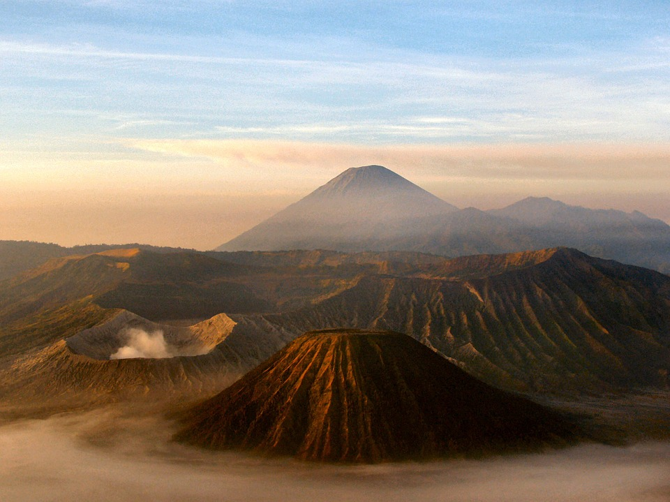 Mount Bromo and Batok