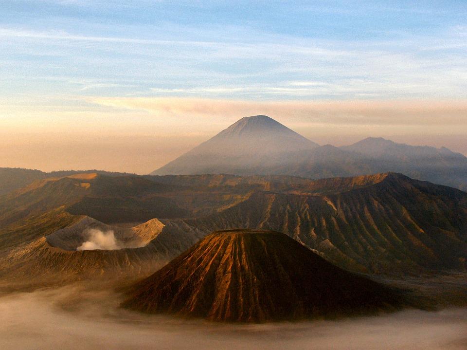 Mount Bromo and Batok