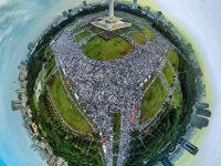 Foto Gambar Reuni 212 Monas Jakarta
