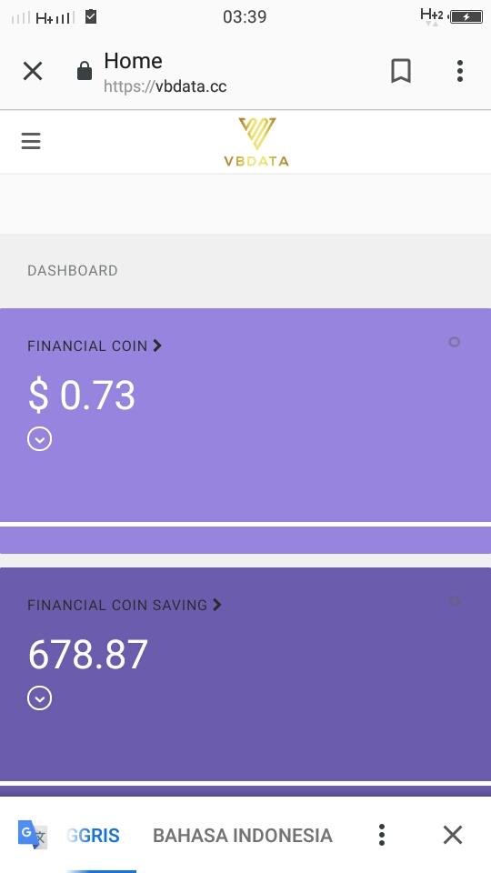 Kali ini, saya ingin menceritakan pengalaman saya join daftar dalam VB Data Investasi atau biasa yang disebut VB BDIG
