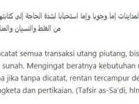 Tata Cara Menagih Hutang Menurut Islam