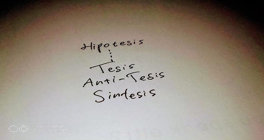 Pengertian Tesis, Anti Tesis, Sintesis dan Apa Itu Hipotesis, Mahasiswa Wajib Tahu!